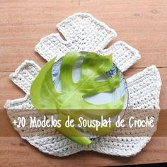 DIY: 20 Modelos de sousplat de crochê Crochet Diagram, Crochet Motif, Crochet Patterns, Crochet Flower Tutorial, Crochet Flowers, Thread Crochet, Crochet Stitches, Childrens Crochet Hats, Toilet Paper Crafts