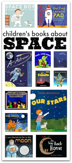 Space books for kids from - No Time For Flash Cards