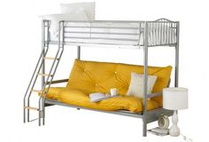 Unique and contemporary Hyder Alaska Futon Bunk #Bed is an ideal presentation of @HomeArena at a reasonable #price of £310.99 with Free home #delivery and 1 year #guarantee service.