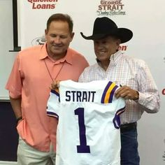 Les Miles and King George Strait ....Photo taken by @stephanieanntrahan on Instagram, pinned via the InstaPin iOS App!