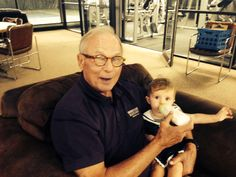 When not selling real estate,BHHS Stein & Summers founder Jim Summers loves to spend time with his granddaughter.