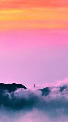 Clouds sunrise mountain Iphone Wallpapers Hd - Best Home Design Ideas