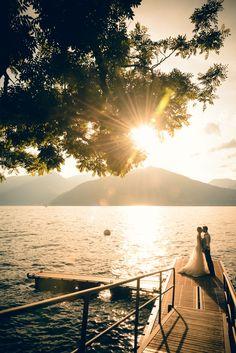 Waterfront Wedding, Wedding Inspiration, Celestial, Sunset, Outdoor, Weddings, Photos, Italia, Sunsets