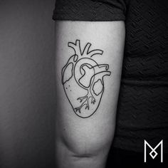 Tatuajes creados con una sola linea