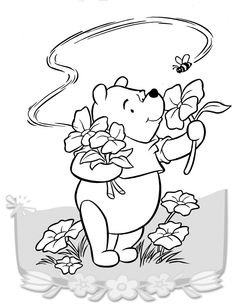 Dibujos para Colorear Winnie the Pooh 19