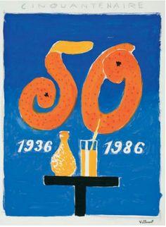 Villemot orangina 1986