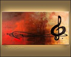 Abstract Music | Abstract Paintings