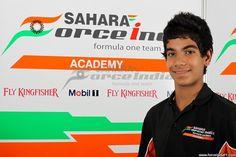 Sahara Force India Formula One Team Academy Driver - Jehan Daruvala