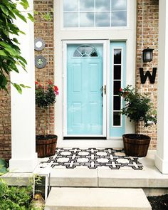 Restyle it Wright: Priming and Painting the Front Door sherwin williams cay DIY