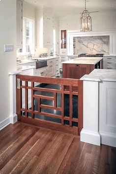 Learn how to accomodate your furry friends and design your home with your pets in mind. Pet friendly home design ideas from Dale's Remodeling in Salem, Oregon Indoor Dog Gates, Cuisines Design, My New Room, My Dream Home, Home Projects, Home Kitchens, Kitchen Remodel, Sweet Home, New Homes