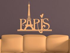 Paris Wall Decal  Wall Decals  Travel by WallJems, $21.99