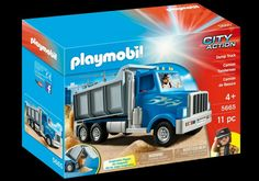 This is the Playmobil City Action Dump Truck Building Set 5665 made by the good people over at Playmobil. A great first building set for any young child! Contains 11 pieces. Recommended Age: Condition: Brand New Trucks For Sale, Cool Trucks, Playmobil City, Kids Spiderman Costume, Learning Express, Action, Dump Trucks, Family Game Night, Toys For Boys