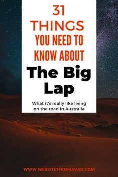 The Big Lap: 31 things you need to know about travelling Australia. This post will make you smile if you've done a trip around Australia or help prepare you for the reality if you're in the planning stages. Roadtrip Australia, Visit Australia, Travel Oz, Travel Tips, Scuba Diving Australia, Living On The Road, Road Trip Hacks, Road Trippin, Best Places To Travel