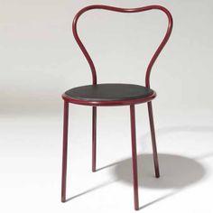 Heart Chair by Claesson Koivisto Rune for David Design Bespoke Furniture, Furniture Design, Mr Price Home, New Nordic, Valentines Design, Tubular Steel, Dezeen, Seat Pads, Nordic Design