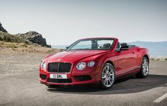 The 2014 Bentley Continental GT is one of the top rated convertibles on TCC.
