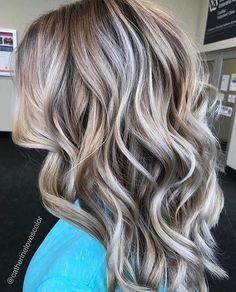 720 Likes, 16 Comments - Michigan Balayage Ombre Hair, Balayage Hair, Haircolor, Curls For Long Hair, Brown Blonde Hair, Gorgeous Hair, Hello Beautiful, Great Hair, Hair Highlights