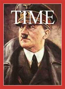What a difference a year makes: In 1938, Adolf Hitler was Time magazine's man of the year and in 1939, he was nominated for the Nobel Peace Prize!