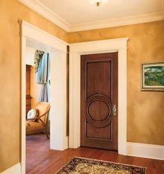Jeld wen custom all panel alder wood interior door wheat for All wood interior doors
