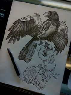 sick bird with zombie hand