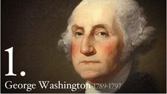 Short biography of Washington. Sidebar has links to bios for all the presidents.
