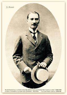Atatürk Avusturya'da. 02.07.1918 Republic Of Turkey, Turkish Army, The Turk, Great Leaders, Dope Art, Historical Pictures, The Incredibles, Cartoon, Black And White