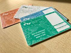Diseño de tarjetas identificativas para el servicio de transporte escolar de Auif.