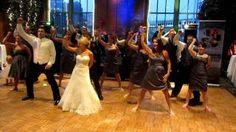 Dirty bit WEDDING flash mob - Black Eyed Peas - The Time (Dirty bit), via YouTube.