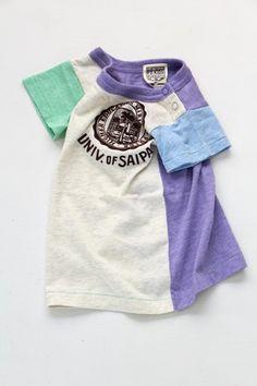 ★30%off★クレイジー配色半袖Tシャツ - 100% picnic.
