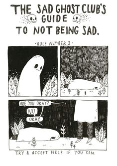 The Sad Ghost Club's guide to not being sad,... - THE SAD GHOST ...