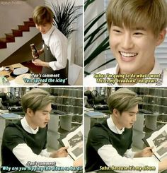 Sassy Suho is my favorite Suho.