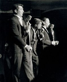 The Rat Pack - Dean, Sammy, and Frank