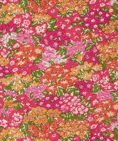 Liberty Art Fabrics Garden Wonderland D Tana Lawn Cotton | Garden Wonderland is a Liberty fabric design selected by Kathryn Beaumont, an English actress and school teacher best known for providing the voices of both Alice in Disney's 'Alice in Wonderland' and Wendy in Disney's 'Peter Pan'. The print was chosen because of its distinctive floral pattern and harmonious interweaving of rose and peony drawings reminiscent of the singing flowers in films garden sequence.