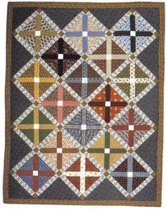 Autograph Cross quilt