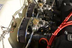 1968 Lotus Cortina restored at Bridge Classic Cars, Suffolk, UK