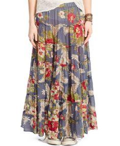 59df50f972 Denim & Supply Ralph Lauren Floral-Print Maxi Skirt & Reviews - Skirts -  Women - Macy's