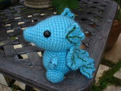 Free Patterns by H: Hannah's Dragon