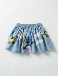 945f04836c9 baby girl ideas · Adventure Sequin Skirt (Wren Blue Flying Ducks)  Embellished Skirt