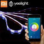 Original Xiaomi Yeelight Smart Light Strip WiFi Enabled 16 Million Colors - CoolNerd - Technology Comparison Shopping Engine & Marketplace Strip Led, Led Light Strips, Smartphone, Arduino, Ipod, Wifi, Gear Best, Home Automation System, Hidden Camera