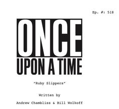 Here's another #OnceUponATime #titlespoiler -- hope to see ya March 6th when #OnceTurns100 ! (5x18)