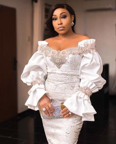 USA Replications of Wedding Dresses - Inspired Designer Evening Gowns We make replications of designer wedding dresses. Get close recreations of celebrity gowns & dresses inspired Haute Couture dress designers. African Lace Styles, African Lace Dresses, Latest African Fashion Dresses, African Print Fashion, Africa Fashion, African Style, African Attire, African Wear, Lace Dress Styles
