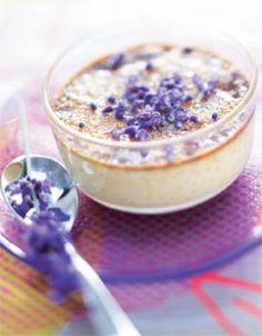 Crème brûlée à la lavande - #violet