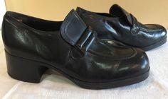 5874048ca555 Disco Leather Original Vintage Shoes for Men