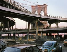 """The Joseph Bellows Gallery shares the late Wayne Sorce's """"Urban Color"""" series of NYC in the late '70s and early '80s."""