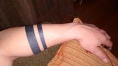 Armband bold circular stripes