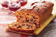 All-star Nigella Christmas: Scarlet-speckled loaf cake | Daily Mail Online