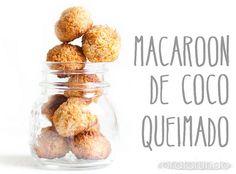 Macaroon de Coco Queimado by pratofundo