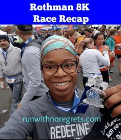 Check out  my recap of the Rothman 8K that takes place every year during Philadelphia Marathon Weekend - this is a great race!  Find more reviews at runwithnoregrets.com!