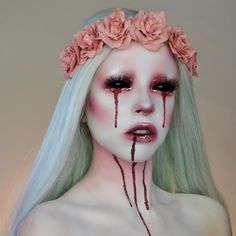 "20.2k Likes, 152 Comments - KIMBERLEYMARGARITACOLOURCREEP (@kimberleymargarita_) on Instagram: ""Another shot of this bloody look but with different eye colour What's your favourite horror…"""
