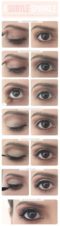 DIY EYE MAKE-UP Makeup tips and ideas