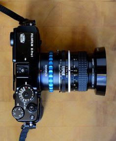 Fuji X Pro fully manual focus